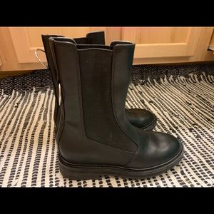 Via Spiga Shoes - Via Spiga Leather Moto boots, size 6